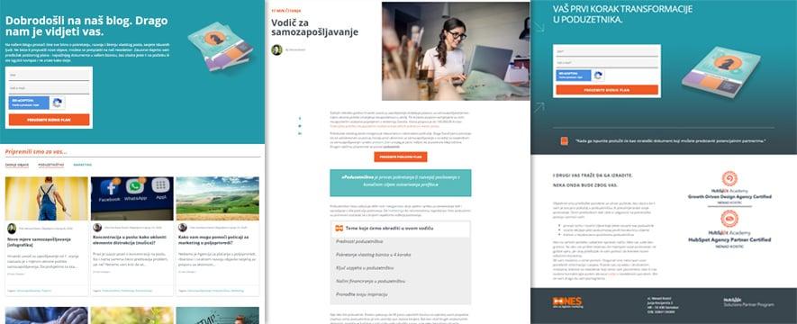 Web dizajn dosljednost